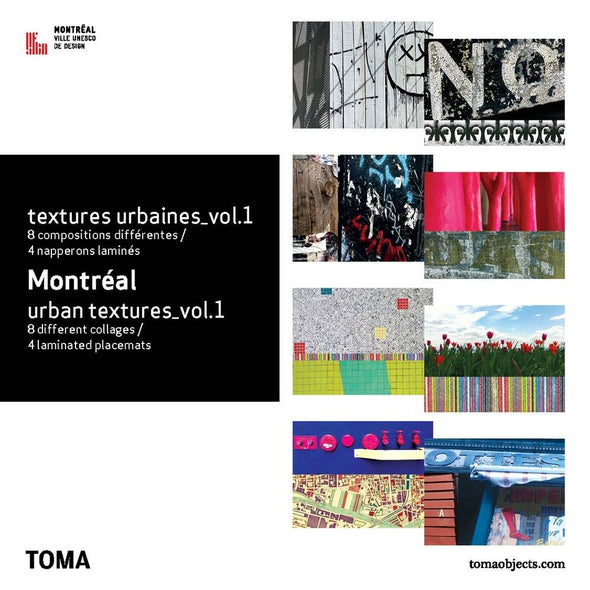 Toma - Napperons - Textures urbaines VOL1