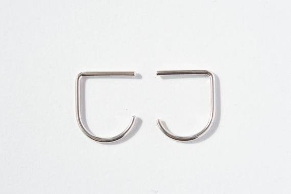 Evelyne B - Boucles suspender - 0.9mm