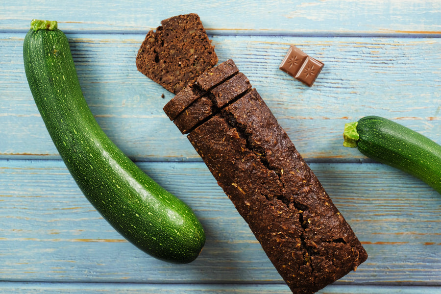 Zucchini and Chocolate Bread