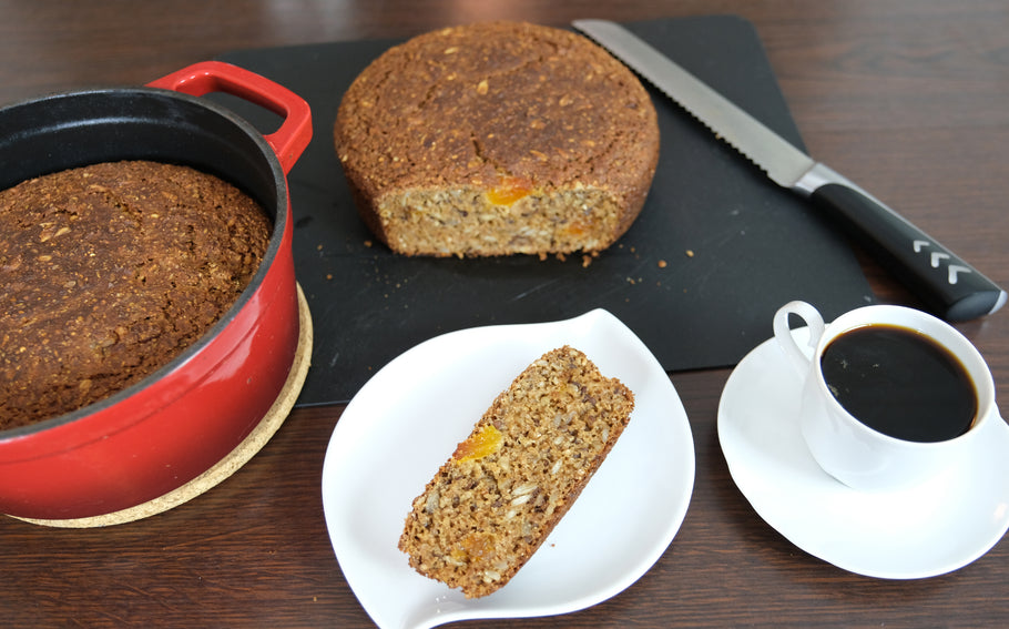 Healthy Bread in Dutch ovens