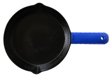 Load image into Gallery viewer, Silicone Hot Handle Holder, Potholder (Extra Thick Blue) for Cast Iron Skillets, Pans, Frying Pans & Griddles - Sleeve Grip, Handle Cover
