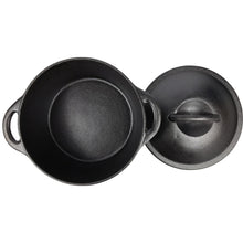 Load image into Gallery viewer, Pre-Seasoned Cast Iron Dutch Oven With Dual Handles - 4.86 qt