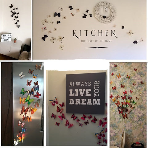 Butterfly Wall Decor Stickers Art Decals