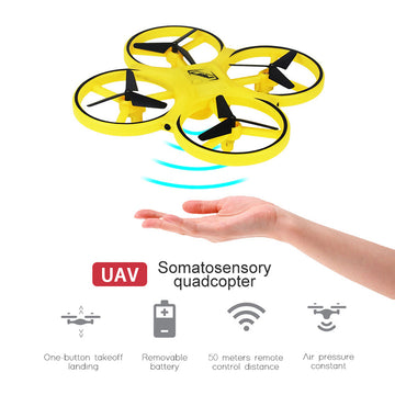 Induction Gesture RC Quadcopter UFO
