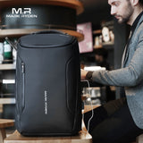 Anti-thief Waterproof Multifunctional Backpack With USB Charger