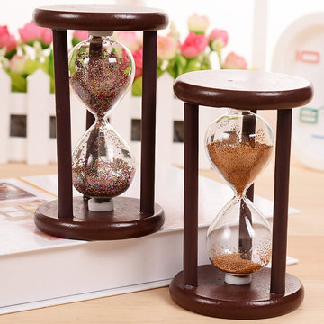 Vintage Hourglass Crafts,  Antique Style Sand Clock Calculagraph