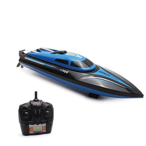 High Speed RC Boat H100 2.4GHz 4 Channel 30km/h Racing Toys Gift