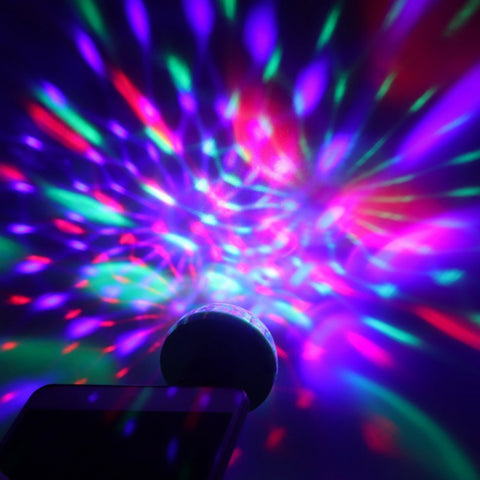 Mini USB LED Disco Light Home Party Decorations