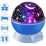 Romantic Starry Sky LED Night Light Projector Moon Lamp