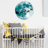 Glow in the Dark Wall Stickers For Kids Rooms | Luminous Moon