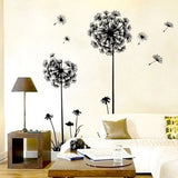 Dandelion Wall Art Decal Stickers