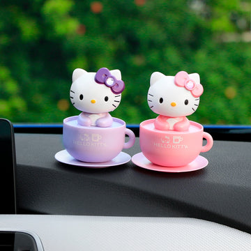 Car Accessories Lovely Cute Cat Shake Head