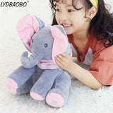 Peek A Boo Elephant & Bear Stuffed Animals & Plush Doll