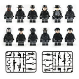 12Pcs/set Military SWAT Building Blocks