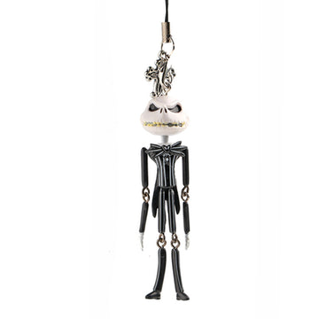 Gift box Lovely Jack Expression Action figure phone chain. The nightmare before Christmas PVC Jack Doll