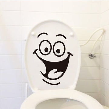 Wall Decor Sticker - Big Mouth Waterproof Toilet Stickers