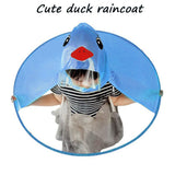 Cute Raincoat Cartoon Duck Kids Rain Coat UFO Children Umbrella