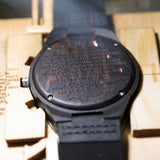 Engraved Wooden Watches Gifts for Family Members
