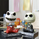 Jack Skeleton Action Figure Decoration Doll, Gift for Kids