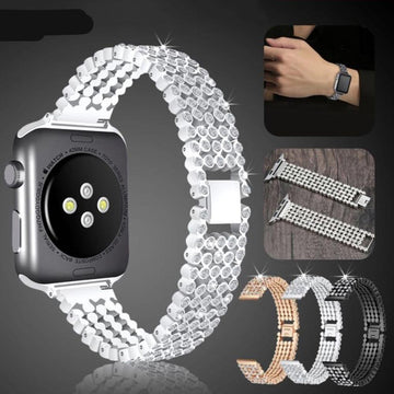 Stylish Crystal Diamond Apple Watch Bands