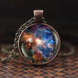 Universe Necklace | Galaxy Astronomy Pendant Necklace