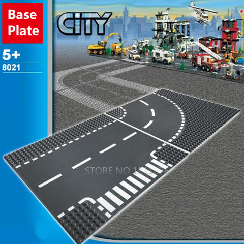 City Road Street Base Plate Building Blocks