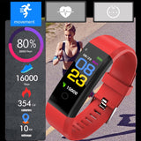 Fitness Tracker Smartwatch Sport Watch For IOS & Android