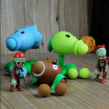 Plants vs Zombies Peashooter PVC Action Figure Model Toy