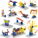 4 Style Mechanical Engineering Building Blocks