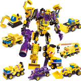 7 Shapes IN 1 Transformer Building Blocks Toy
