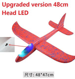 48cm LED Hand Launch Throwing Airplane Glider
