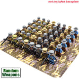 48pcs WW2 Soldiers Building Blocks Toys For Kids