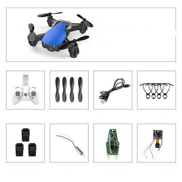 Mini Drone With HD Camera 0.3 MP High Hold Mode