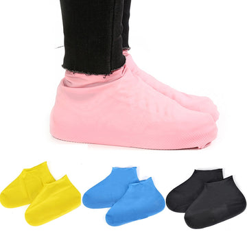 Resistant Rubber Rain Boot Overshoes