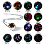 Nebula Glass Constellation Necklaces