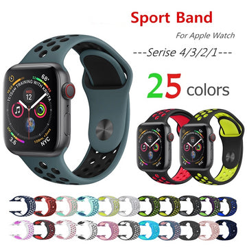 Silicone Straps For Apple Watch Bands