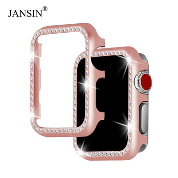 Metal Diamond Protective Case For Apple Watch