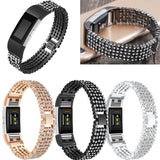 Adjustable Diamond Watch Bands For Fitbit Charge 2