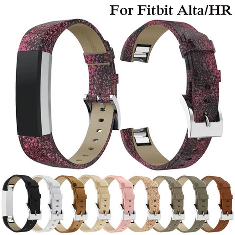 High Quality Leather Watch Strap For Fitbit Alta HR / Alta