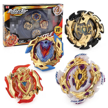 Upgrade 4PCS Beyblade Burst 4D Set With Launcher Arena Metal Fight Battle