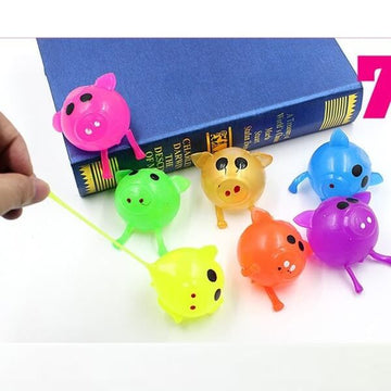 Stress Relief With Water Ball Pig Squishy Toy