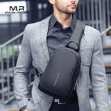Waterproof Multifunction Crossbody Men Bags With USB Charger