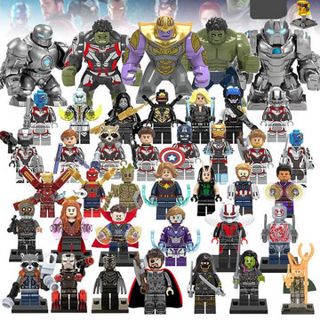 Avengers Endgame Action Figures Building Blocks Set