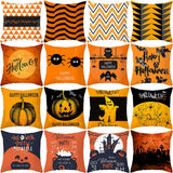 Pumpkin Cushion Cover Halloween Decoration For Home