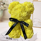 HOT Valentines Day Gift 25cm Rose Teddy Bear
