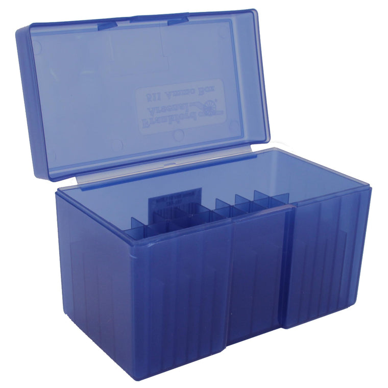 #511 - Blue, 50 ct. Ammo Box, Belted Magnum