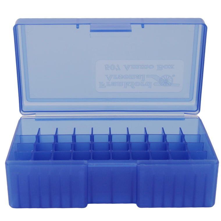 #507 - Blue, 50 ct. Ammo Box, 44 Special-44 Mag