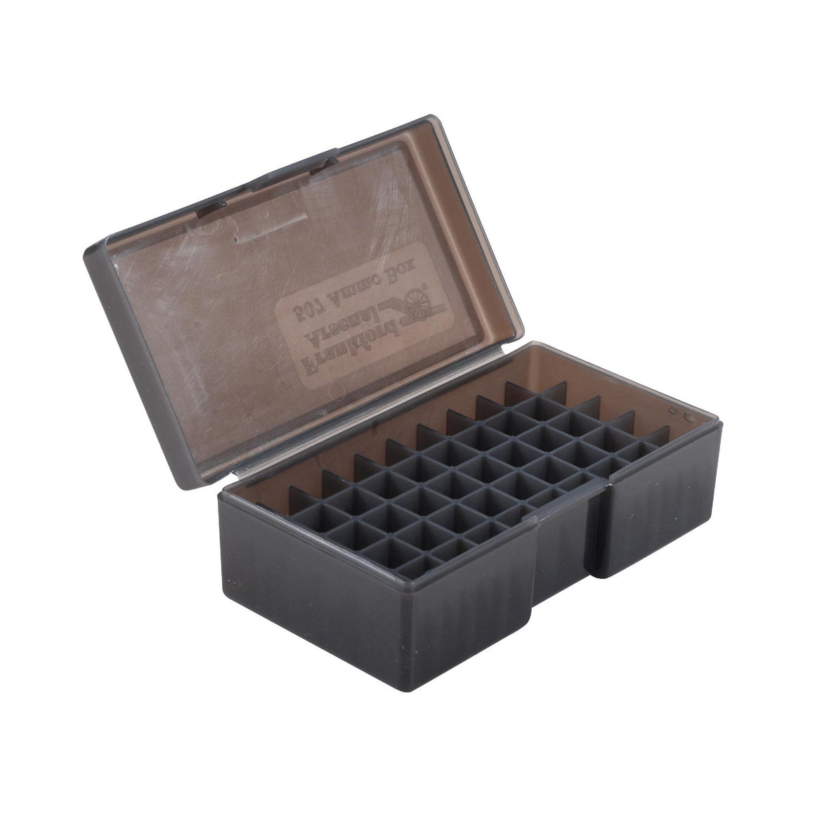 #50 - Gray, 50 ct. Ammo Box, 44 Special-44 Mag