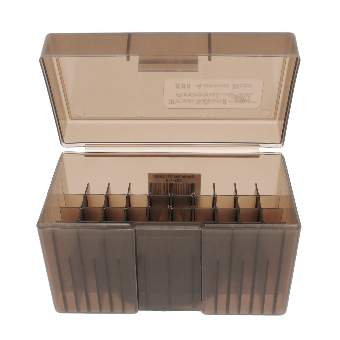 #511 - Gray, 50 ct. Ammo Box, Belted Magnum