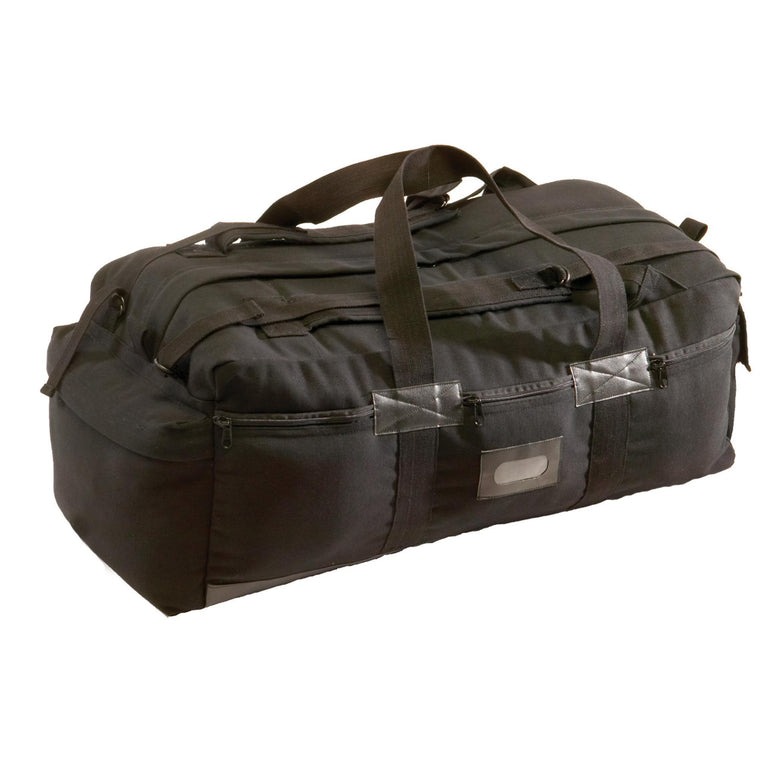 Canvas Tactical Bag - Black